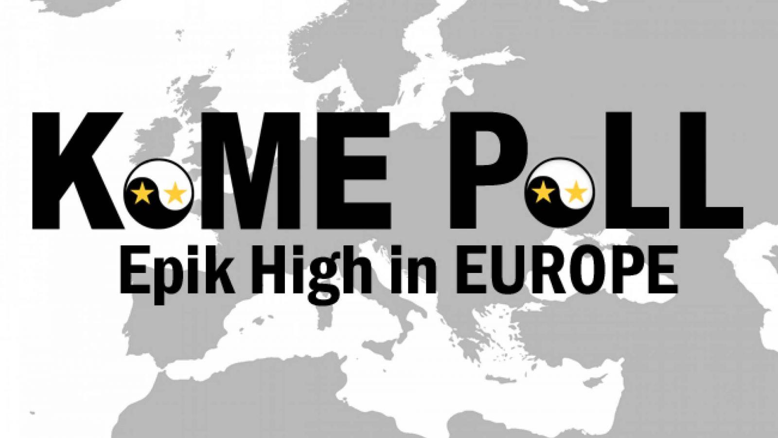 Enquete: Epik High na Europa! © KoME