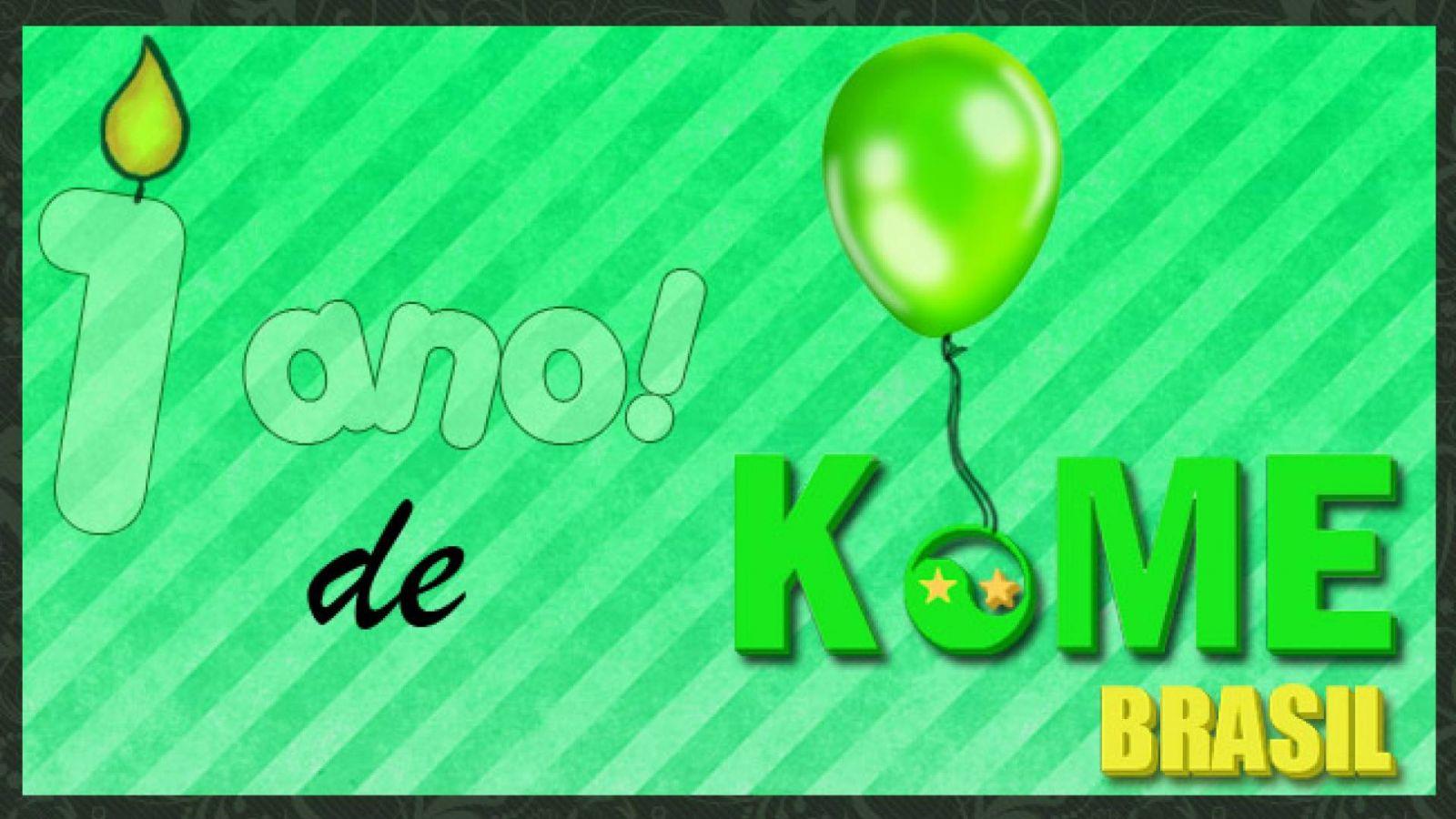 Resultado do Concurso: 1 ano de KoME Brasil! © KoME
