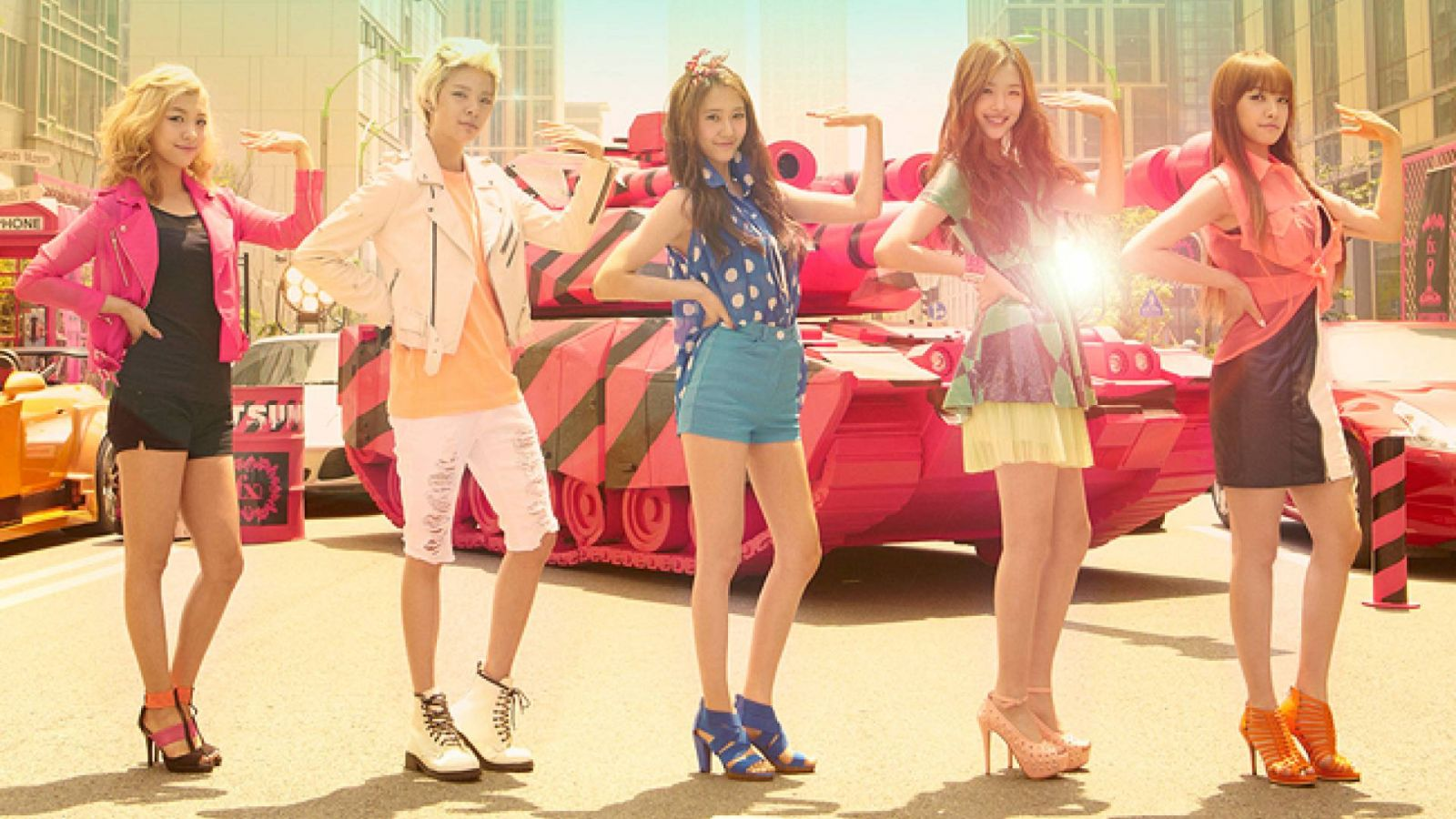 Un repackage album pour les f(x) © SM Entertainment