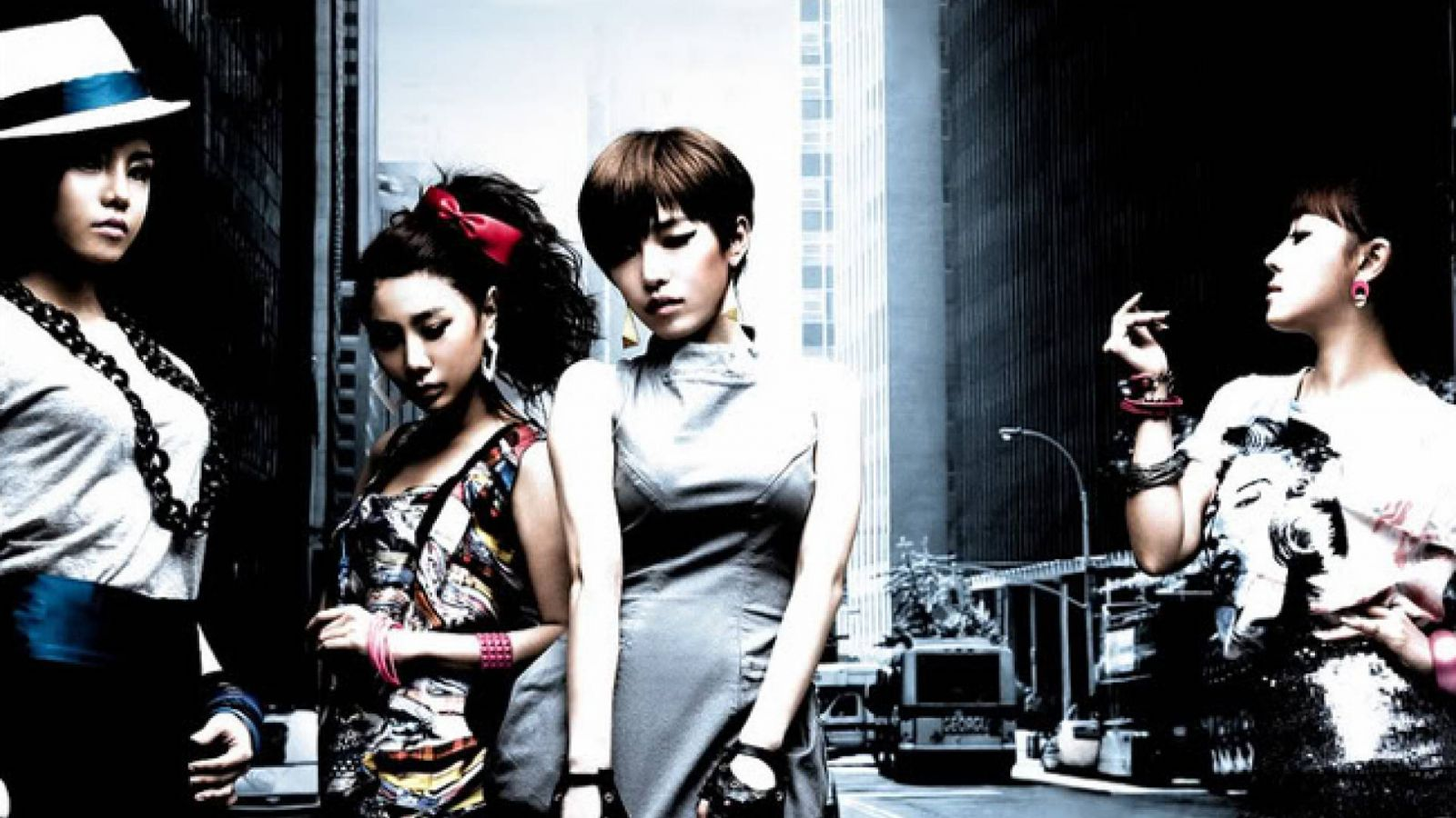 Les Brown Eyed Girls en concert à Séoul © Brown Eyed Girls