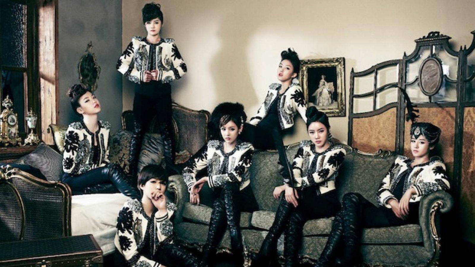 Les T-ara de retour avec un nouveau mini-album © T-ara