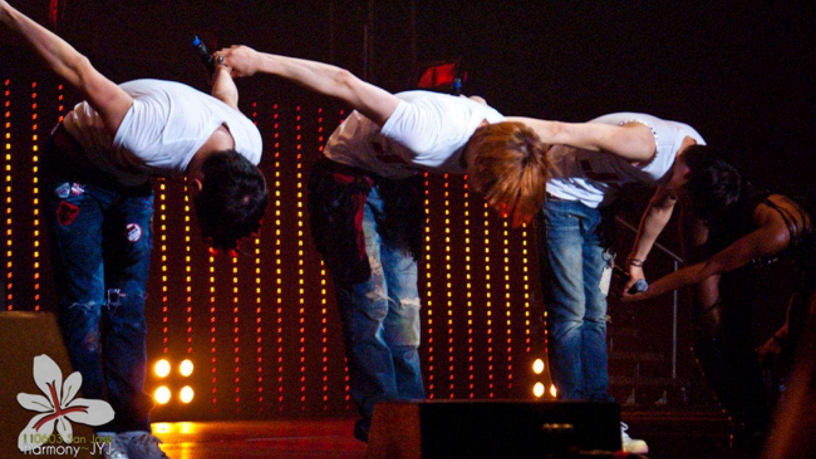 JYJ's World Tour Concert em San Jose © Iris Xie (JYJ Harmony) (jyjharmony@gmail.com)