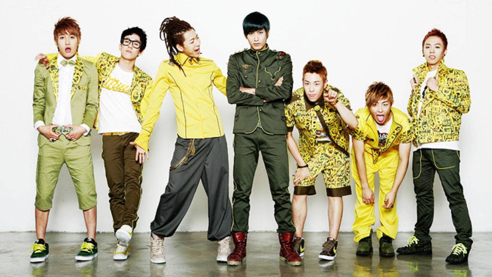 Un nouvel album de Block B le mois prochain © Brand New Stardom