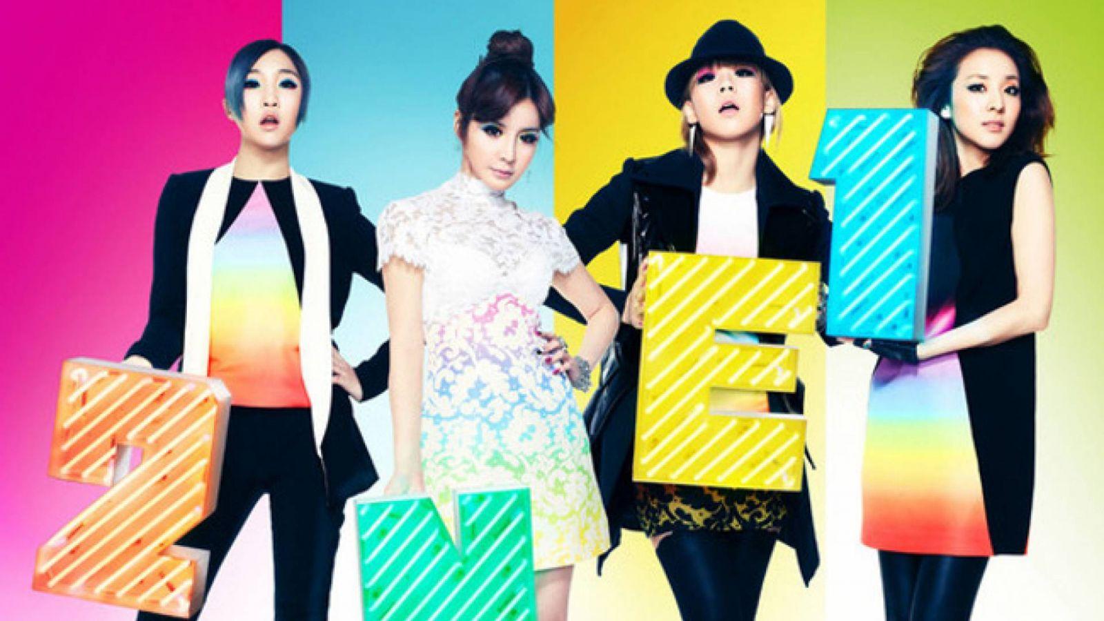 2NE1's Facebook Live Q&A © YG Entertainment