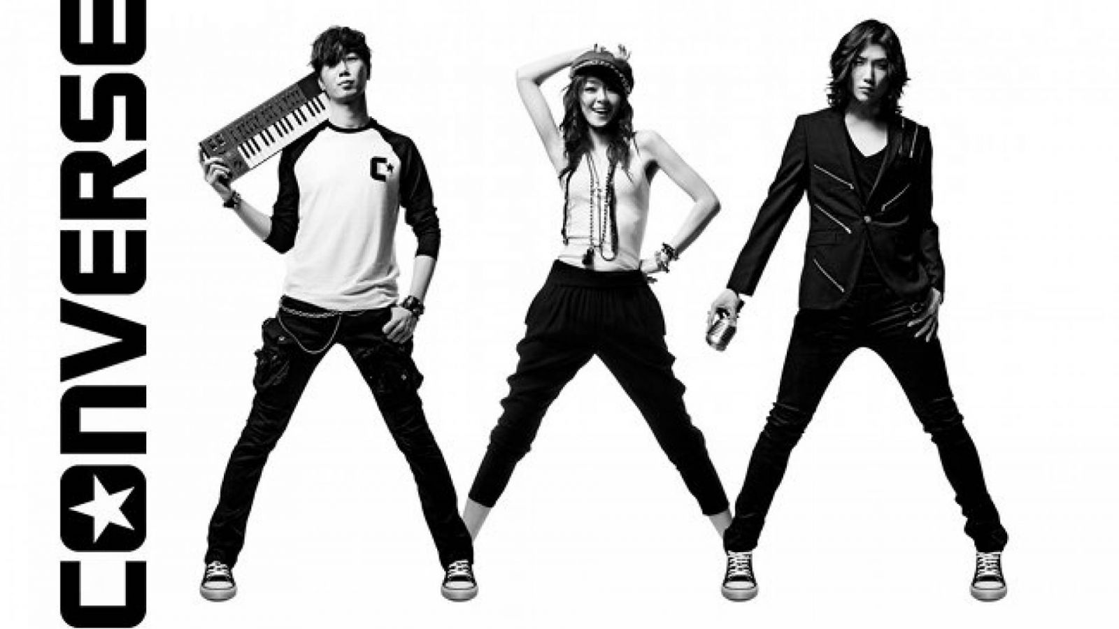 Projeto Three Artists. One Song da Converse © Converse Inc.