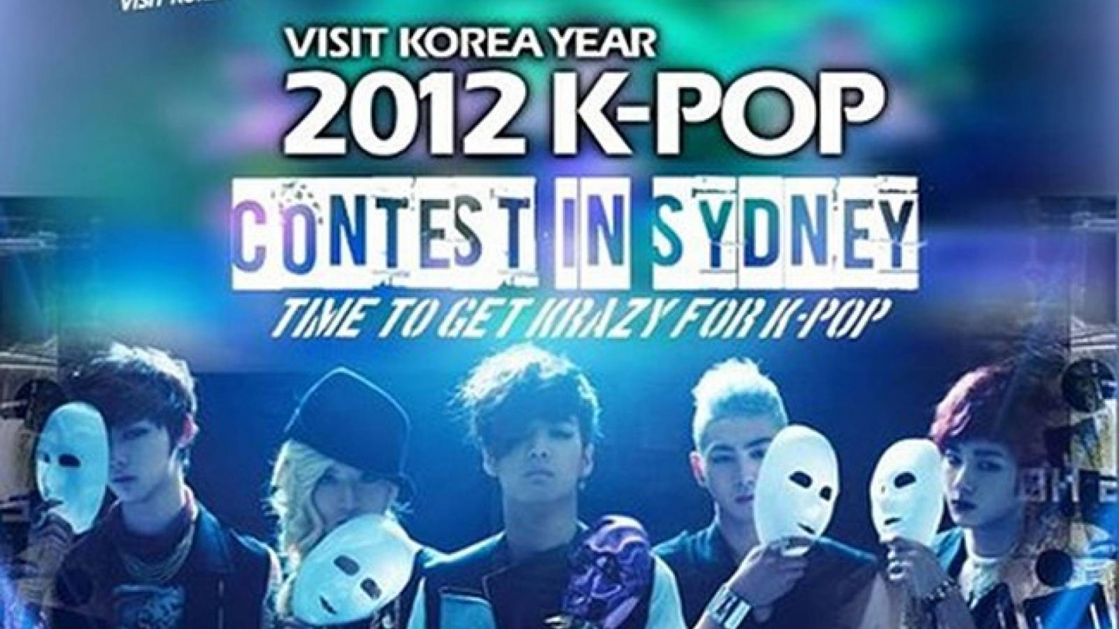 NU'EST julgará concurso de K-pop em Sydney © Visit KOREA Committee