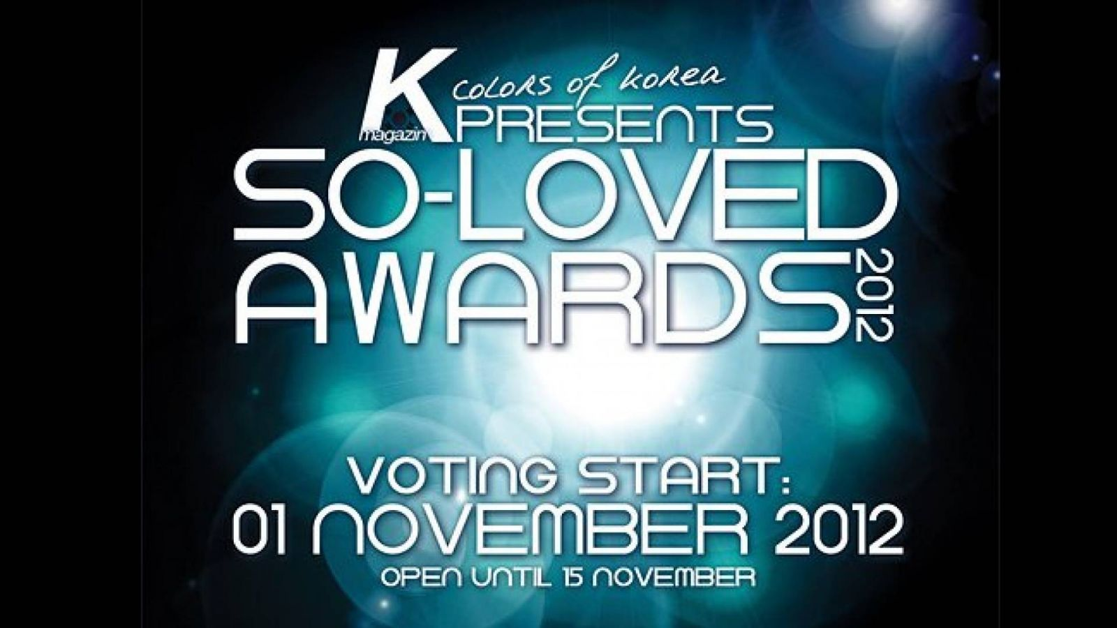 SO-LOVED AWARDS 2012 © K Colors of Korea