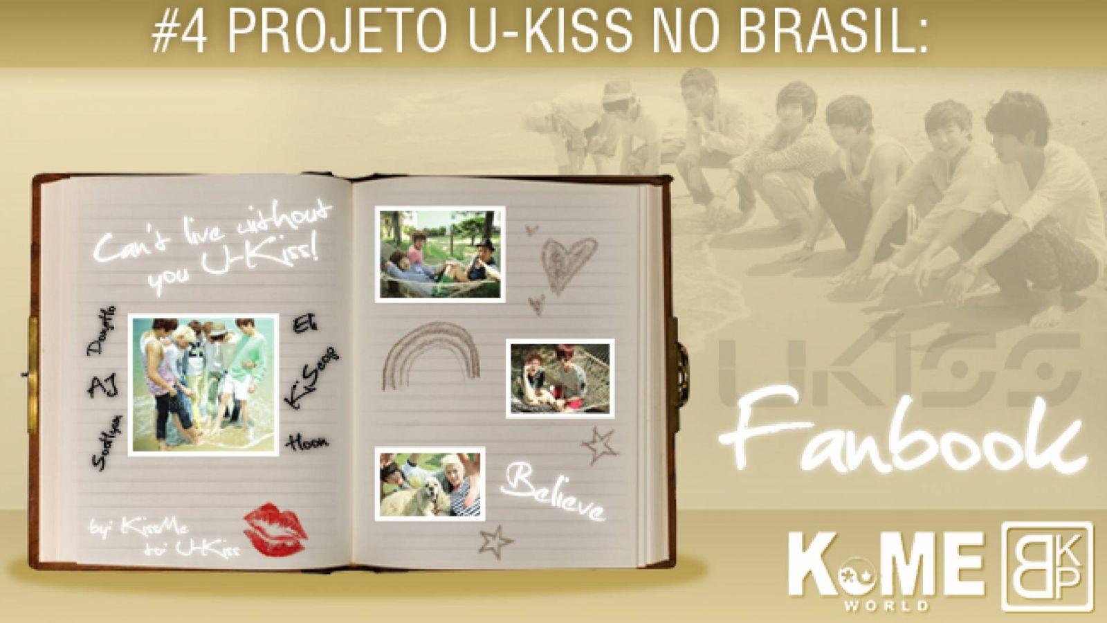 Projeto U-KISS no Brasil: FANBOOK © Caroline Manôn