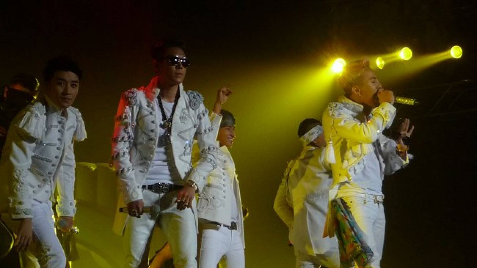 Big Bang Alive Galaxy Tour em Londres © Mee G.