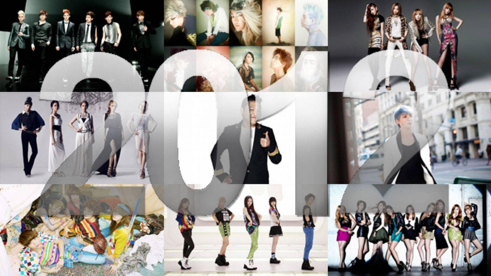 Bestsellers do YesAsia em 2012 © Respective artists
