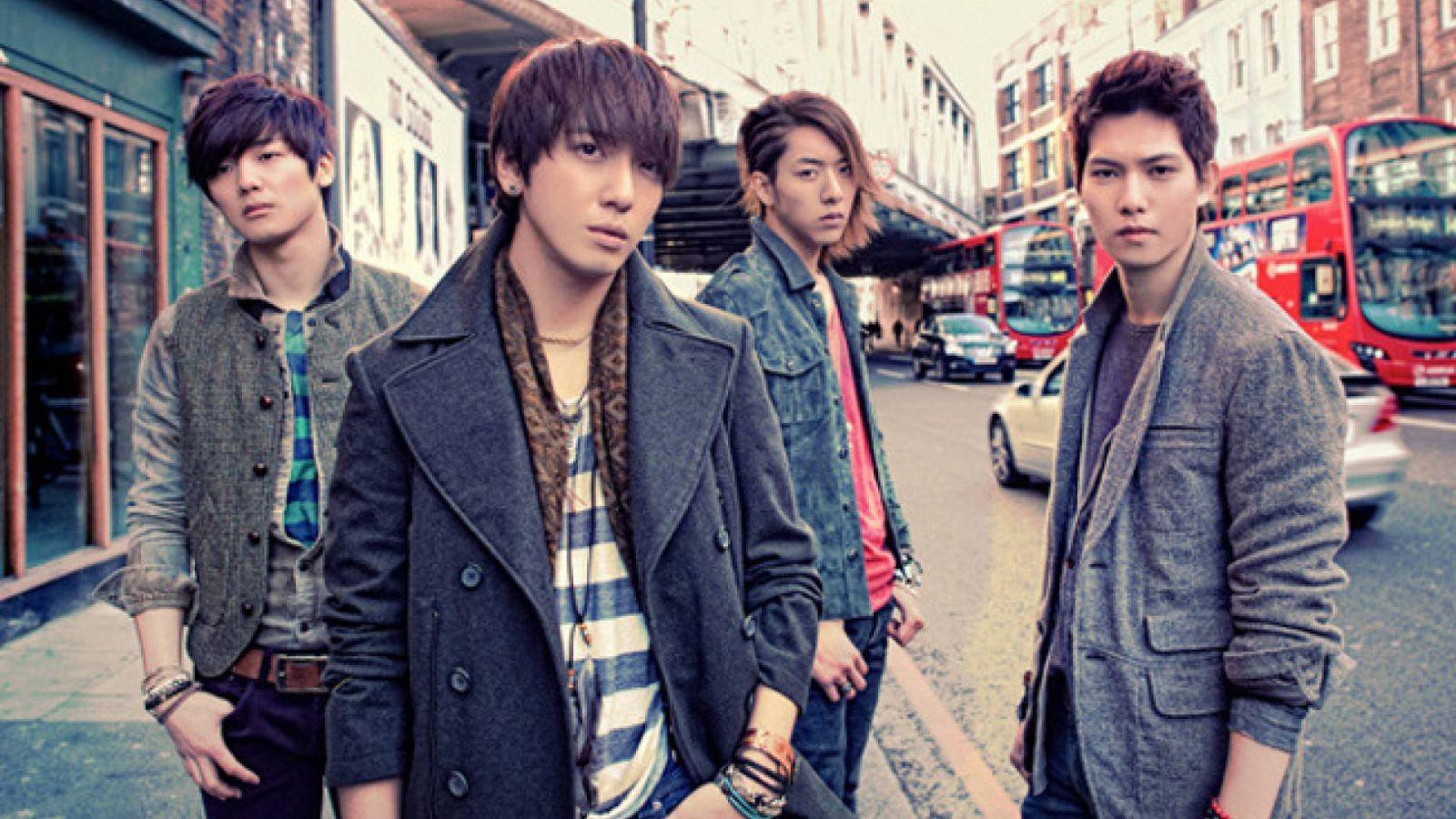 Comeback do CNBLUE em fevereiro © CNBLUE/F&C Music
