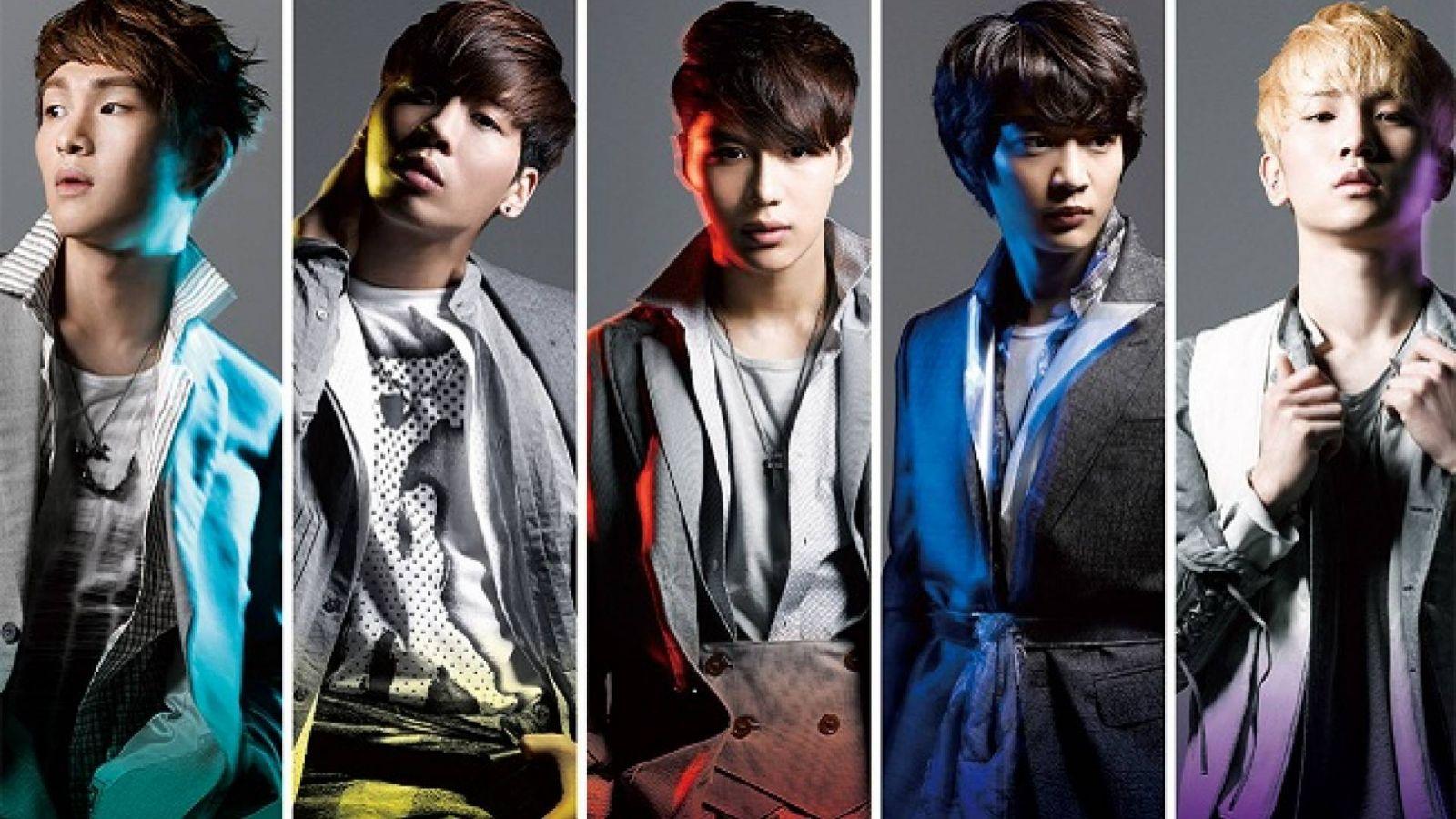 Fire on SHINeen uusi single © EMI Music Japan