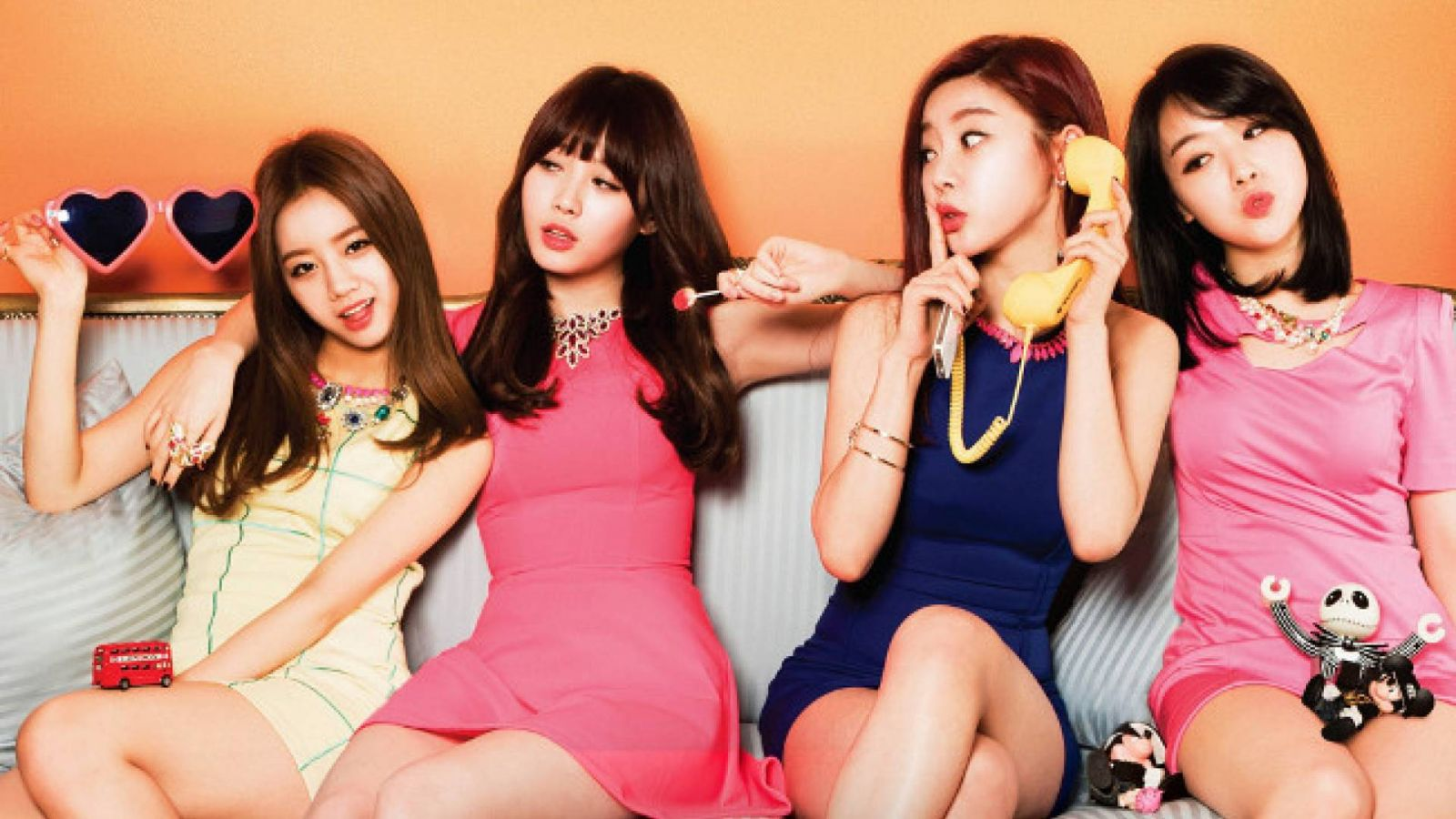Primeiro álbum do Girl's Day © Dream Tea Entertainment
