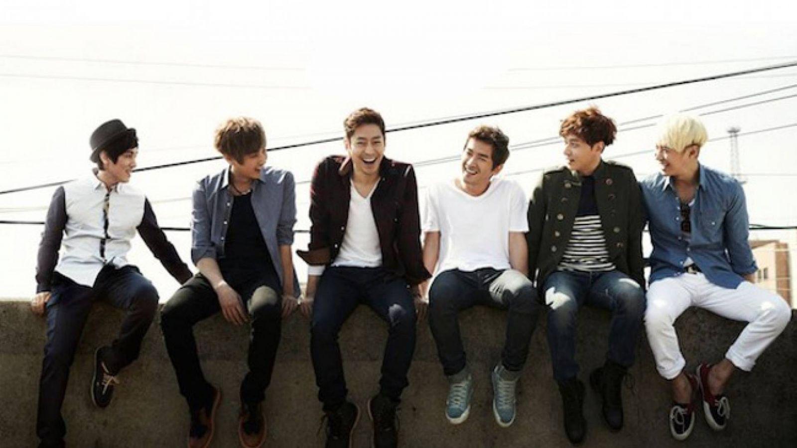 Novo álbum do Shinhwa © Shinhwa Company