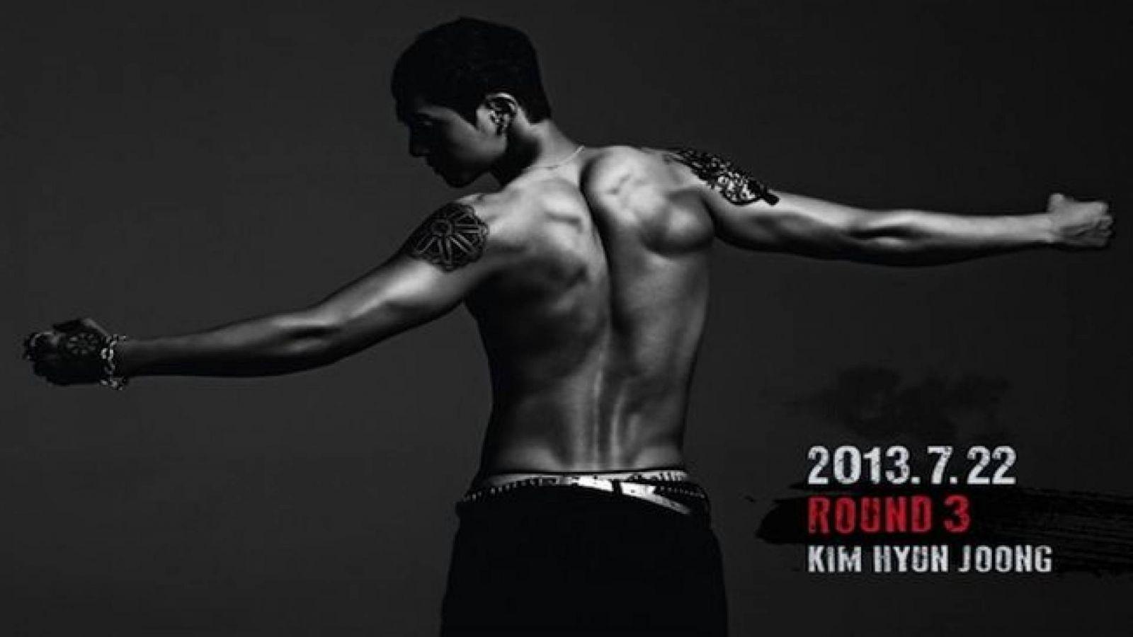Kim Hyun Joong está de volta © Keyeast Entertainment