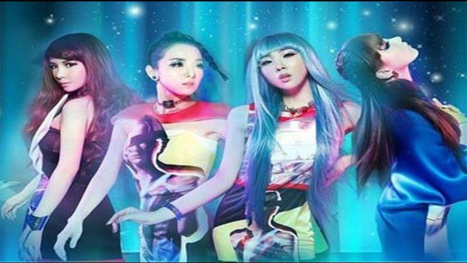 2NE1: most popular album in Billboard © YG Entertaiment