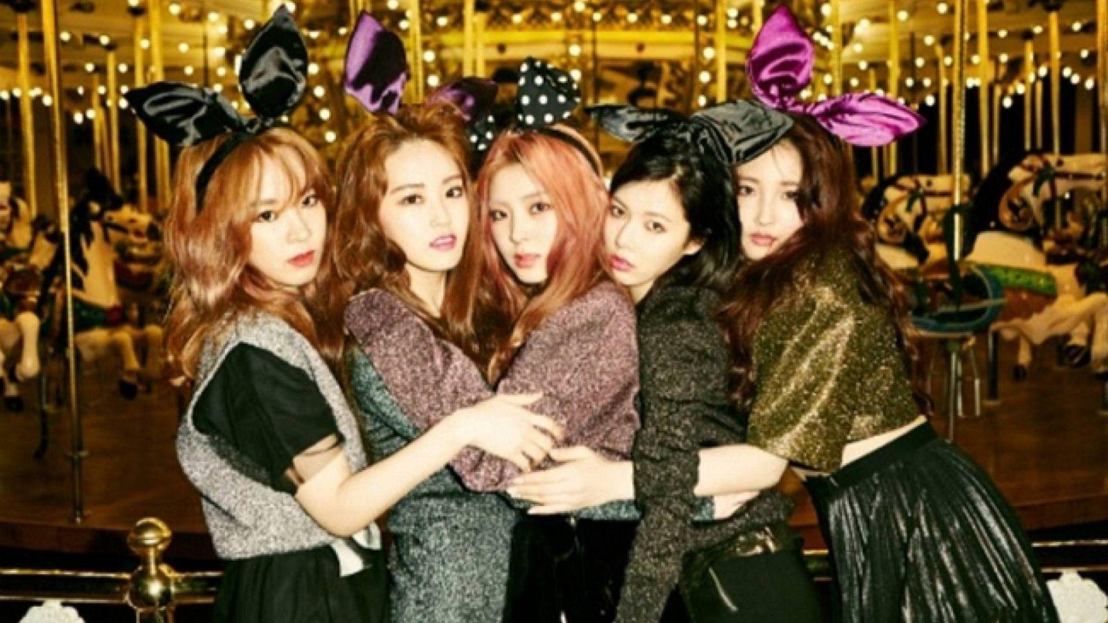Comeback do 4Minute em março © Cube Entertainment