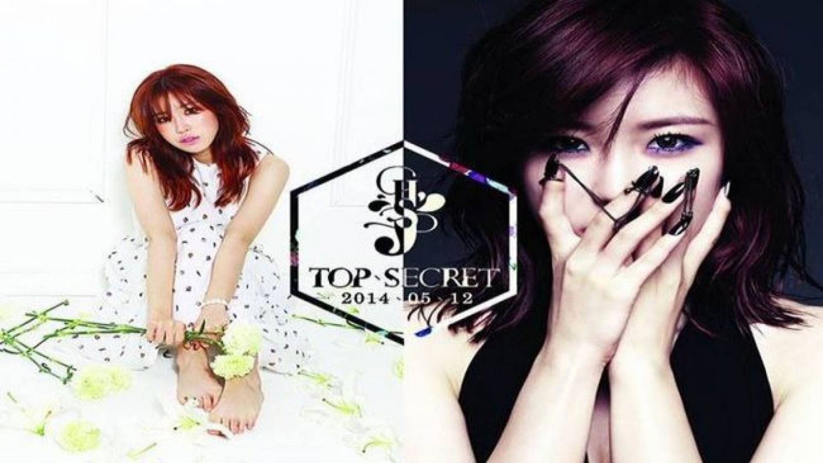 Hyoseong's TOP SECRET: solo single album © TS Entertainment