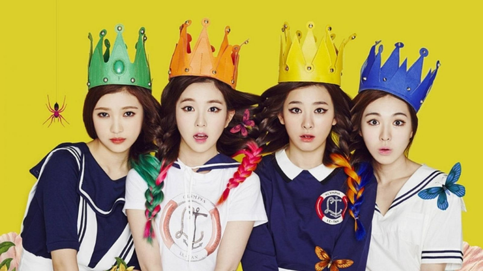 Red Velvet, novo grupo feminino da SM Entertainment © SM TOWN Official Facebook