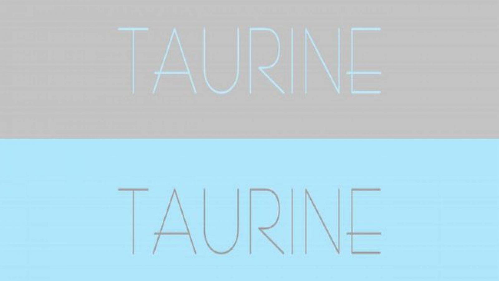 Taurine © Taurine Oficial Facebook