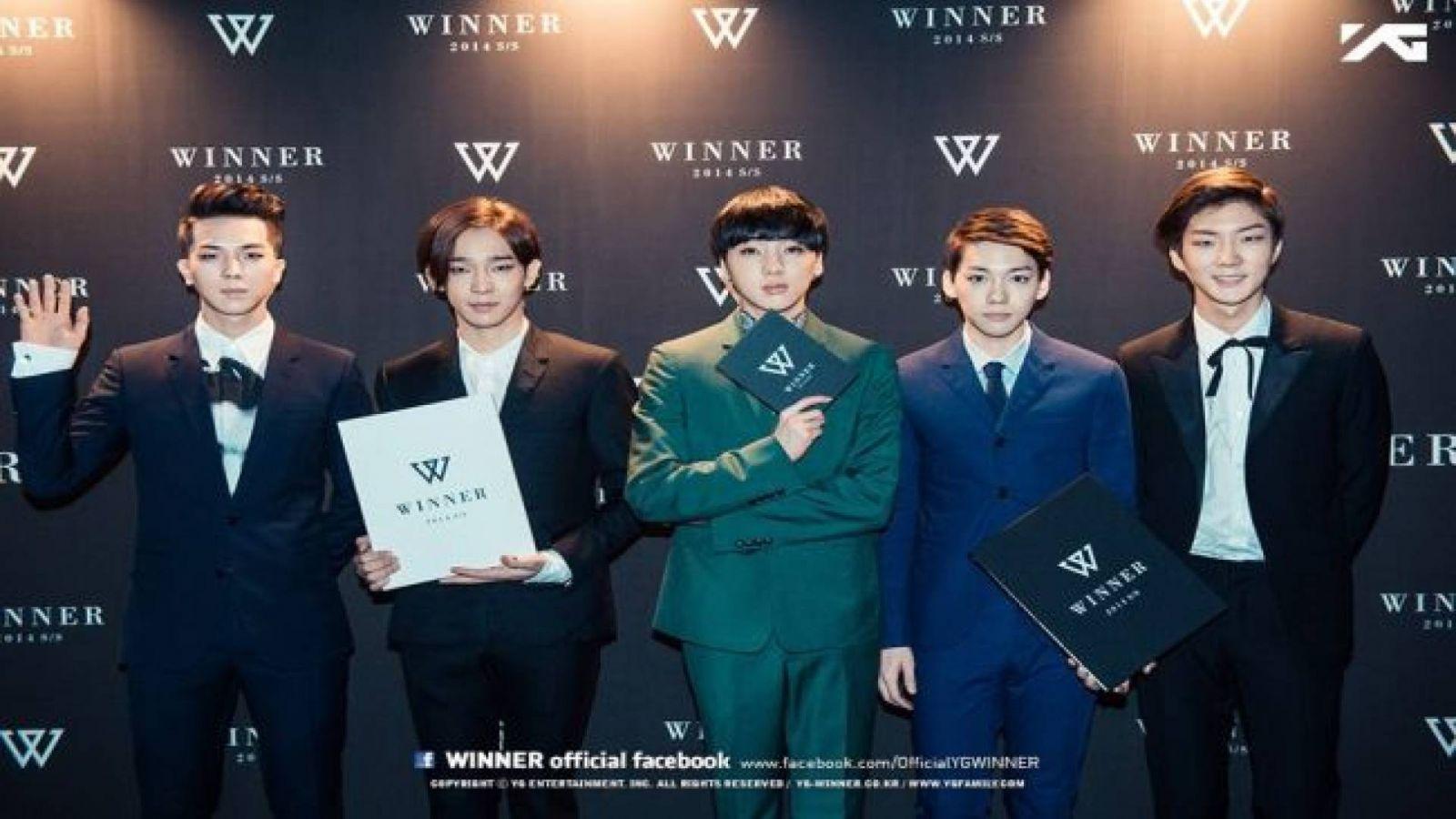 WINNER's Grand Launch © WINNER Official Facebook