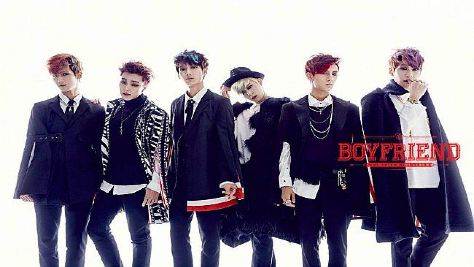 Witch, comeback do Boyfriend © Boyfriend Official Facebook page, STARSHIP Entertainment