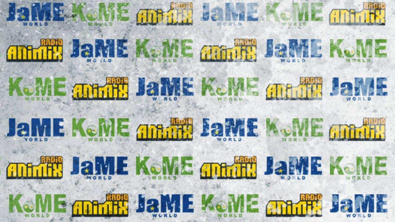 KoME e JaME em parceria com a Radio AniMiX! © Animix
