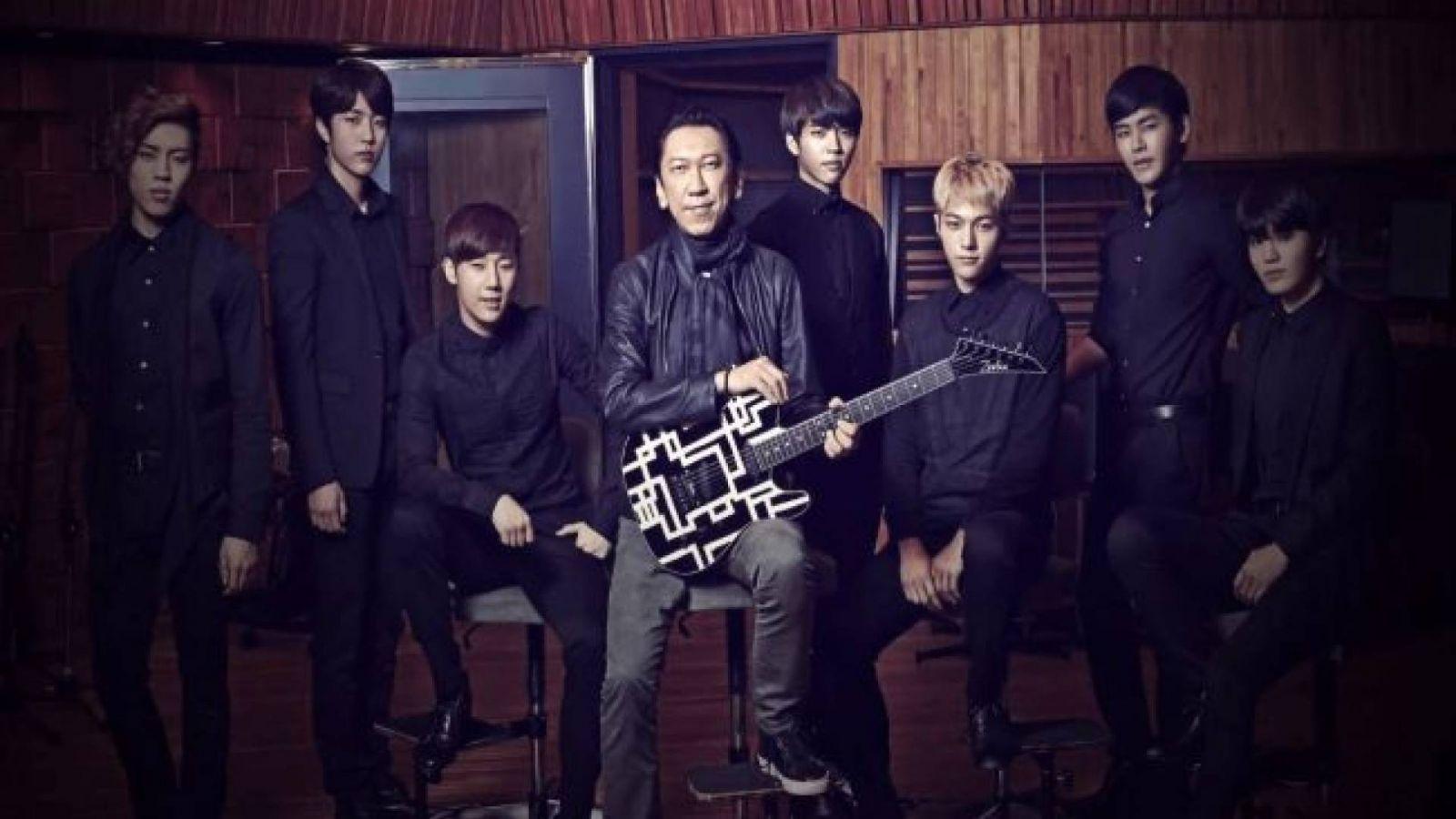 Nova canção de INFINITE com Hotei Tomoyasu em 24/12 © Woollim Entertainment, Universal D