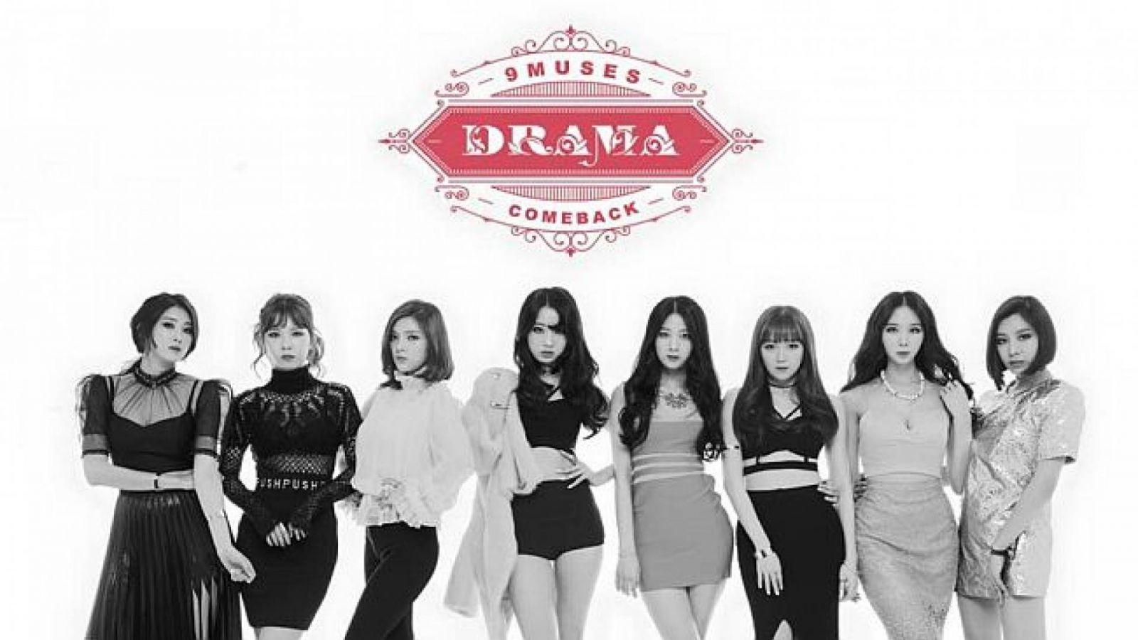9MUSES faz comeback com nova formação © 9MUSES Official Facebook Page