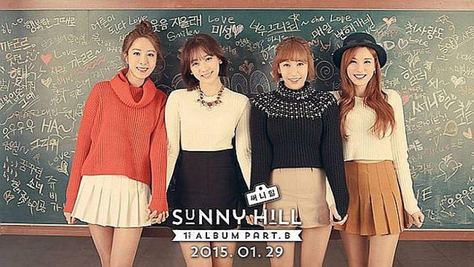 Comeback de Sunny Hill © Sunny Hill Official Facebook