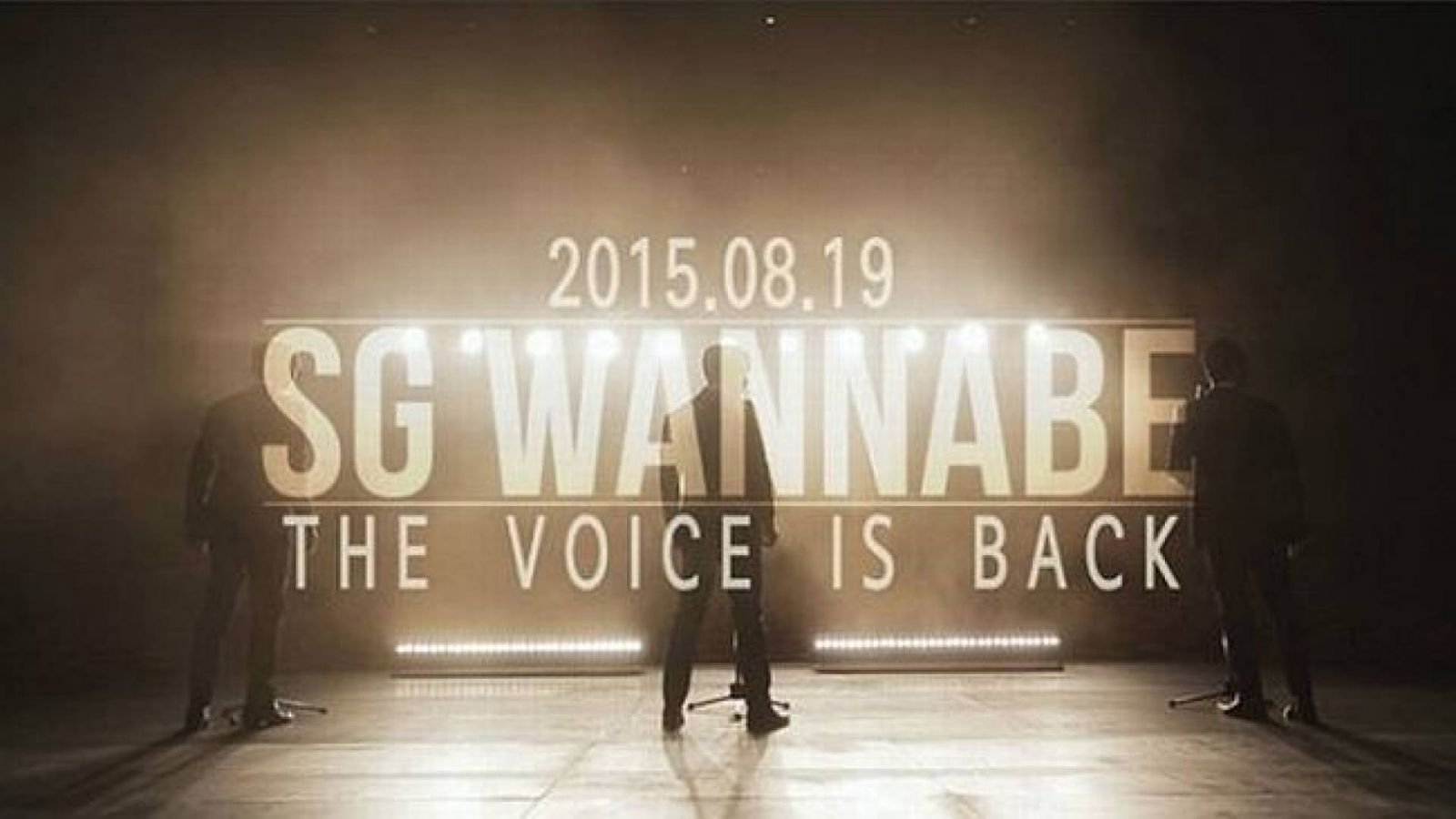 Confirmado o comeback do SG Wannabe! © SG Wannabe Official Facebook Page