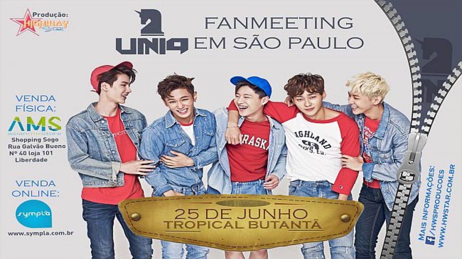 UNIQ fará sua primeira apresentação no Brasil © Press Release Highway Star