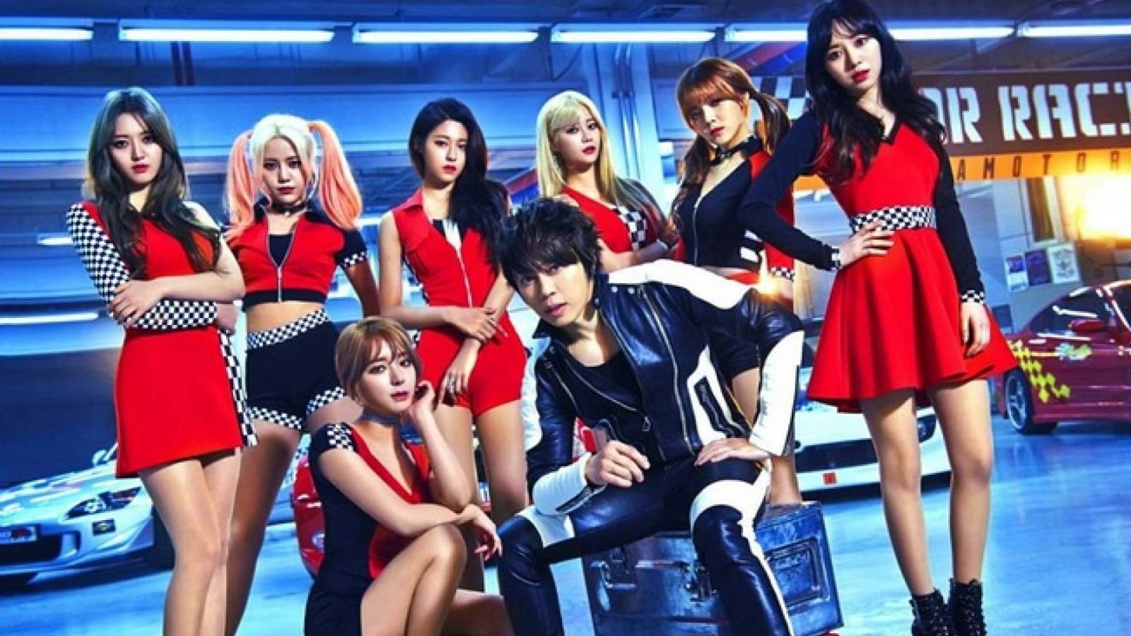 AOA:n neljäs single Japanissa on yhteistyö Takanori Nishikawan kanssa © Sony Music Japan. All Rights Reserved.
