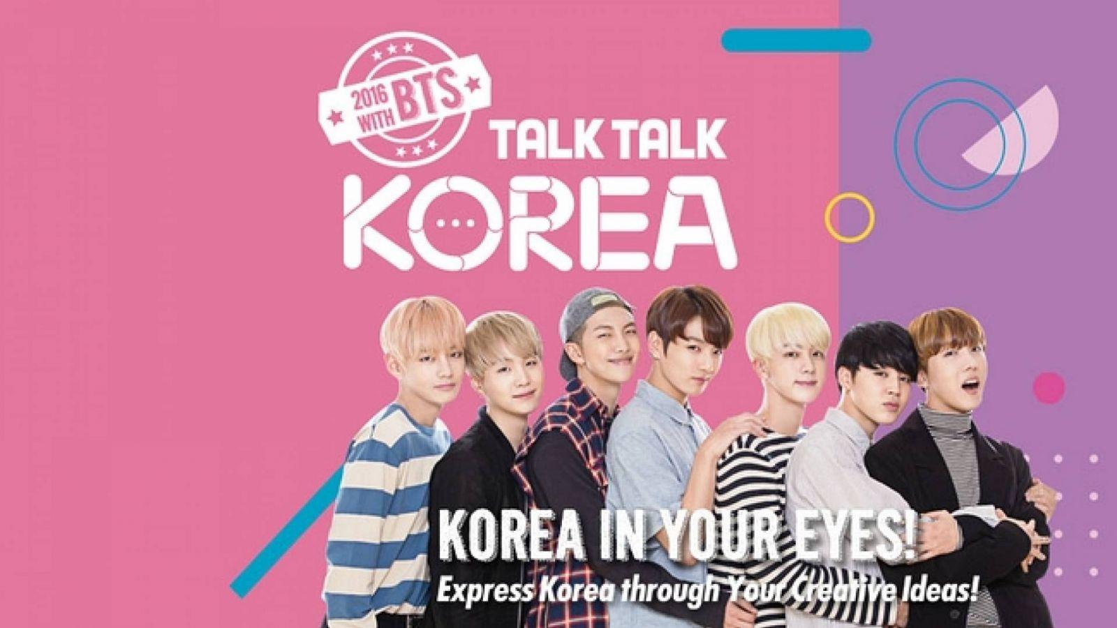 Voita matka Etelä-Koreaan Talk Talk Korea -kilpailussa © Talk Talk Korea