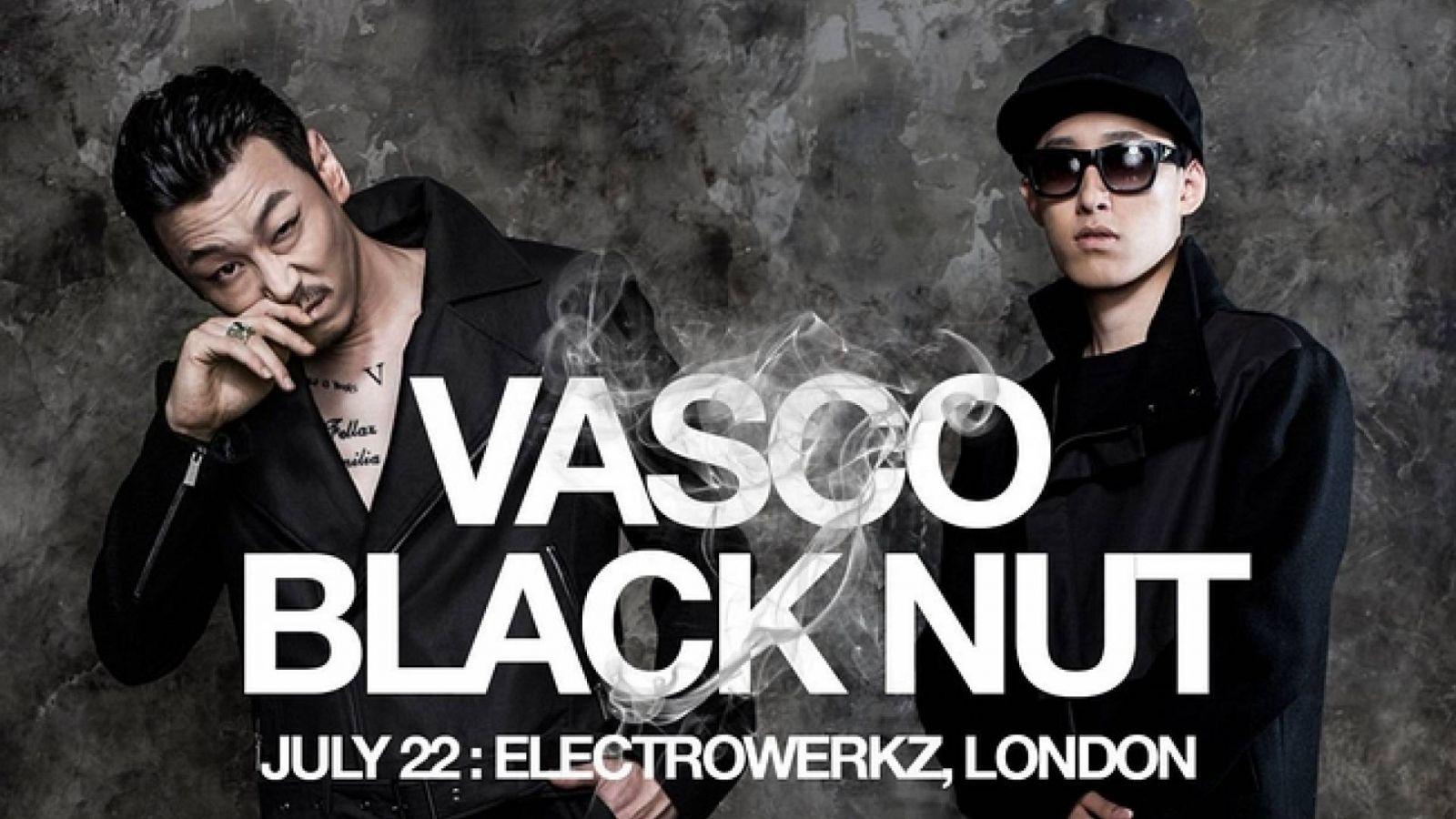 Räppärit Vasco ja Black Nut esiintyvät Lontoossa © All Rights Reserved.