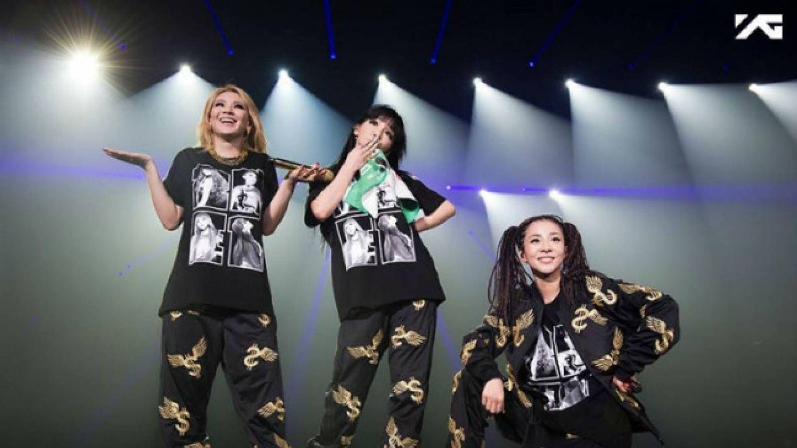 2NE1 julkaisee jäähyväissinkun © YG Entertainment. All Rights Reserved.