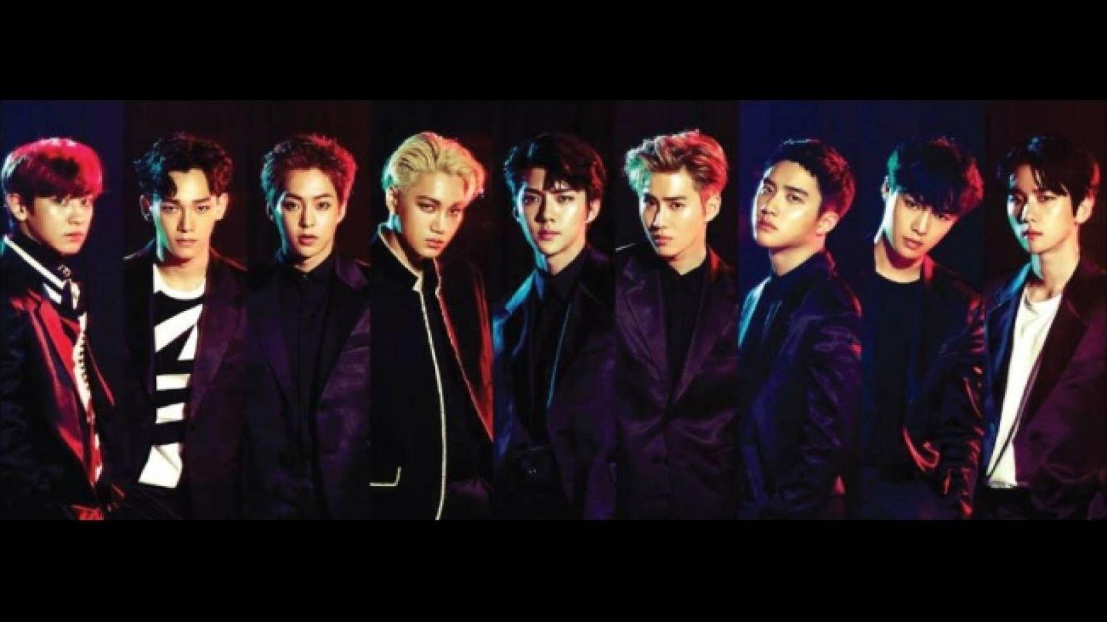 EXO jatkaa kahdeksanjäsenisenä promotoimista © SMTown. All Rights Reserved.