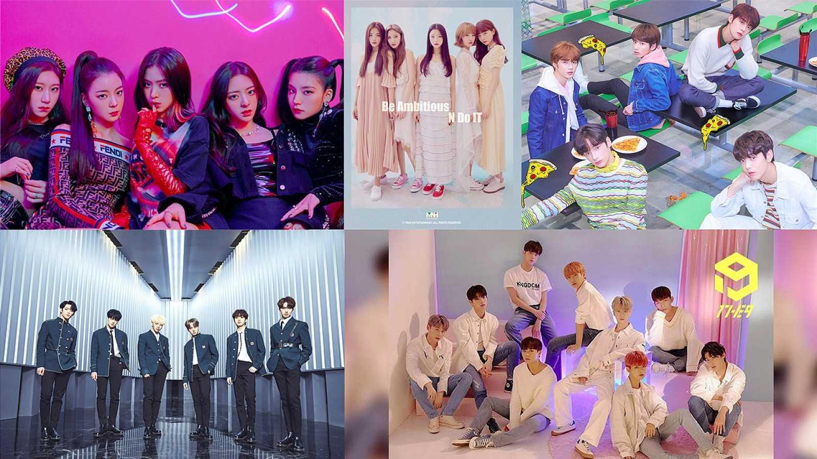 Kpop-kevään 2019 uudet kasvot