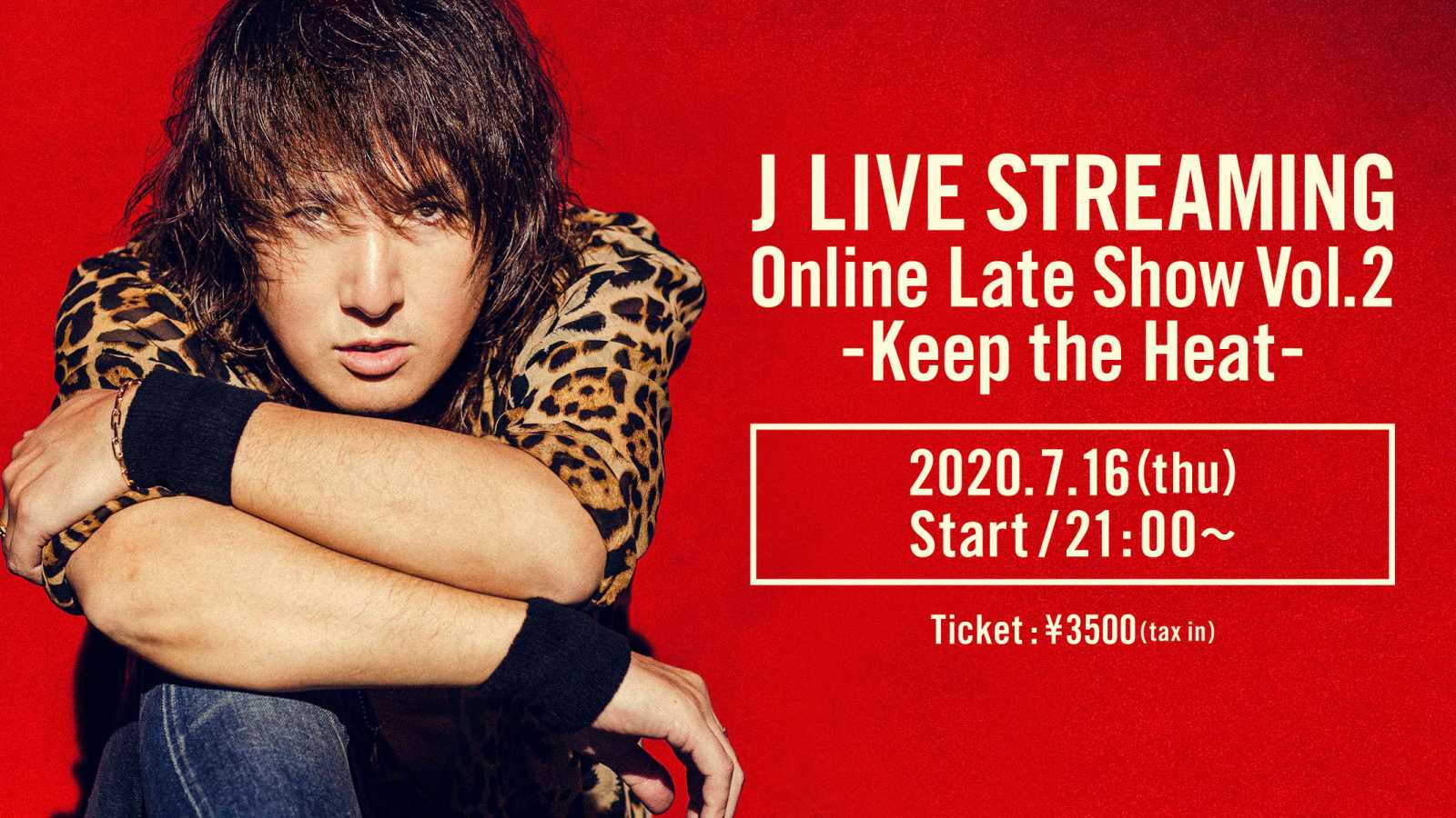 J to Stream Online Late Show Vol.2 on niconico LiVE © J. All rights reserved.
