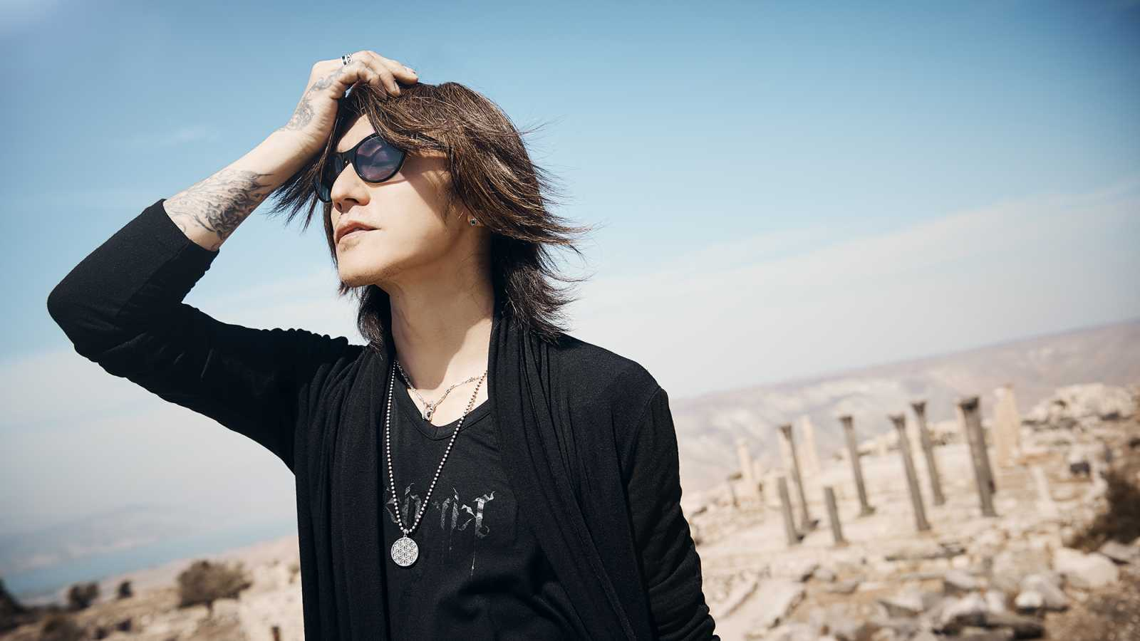Details on SUGIZO's First Live Streaming Concert © SUGIZO. All rights reserved.