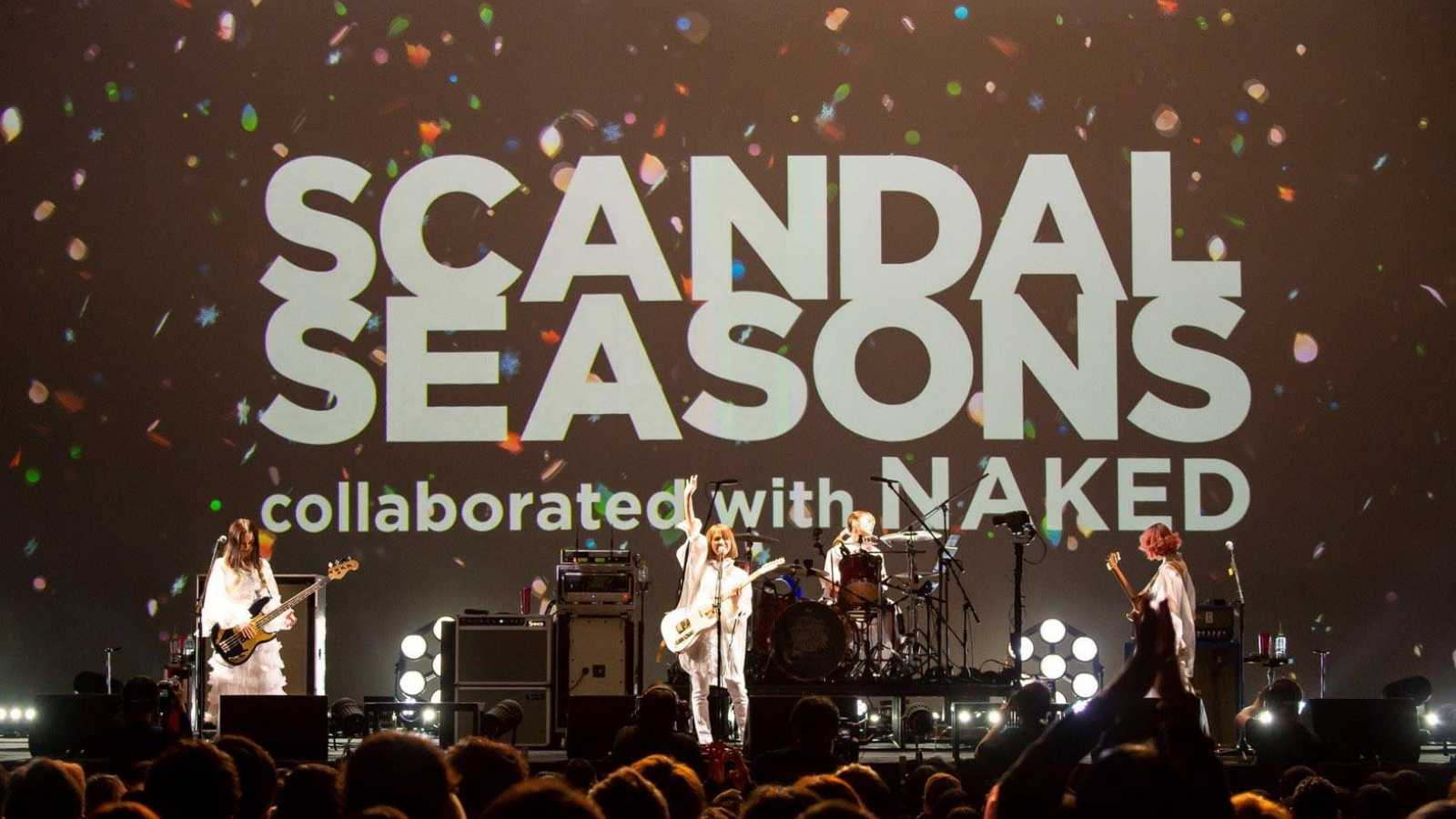 SCANDAL to Stream Special Live SEASONS Worldwide © SCANDAL All rights reserved.